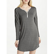 Buy John Lewis Loungewear Nightdress, Charcoal Online at johnlewis.com
