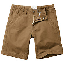 Buy Fat Face Boys' Ellis Shorts, Brown Online at johnlewis.com