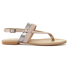 Buy Mint Velvet Ketty Toe Post Sandals Online at johnlewis.com