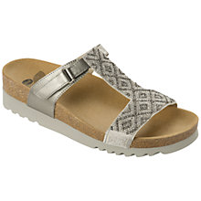Buy Scholl Astrelle T-Bar Sandals, Metallic Online at johnlewis.com