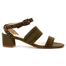 Buy Mint Velvet Lara Studded Sandals Online at johnlewis.com
