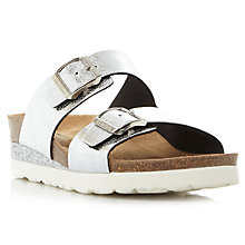 Buy Dune Lucki Double Strap Sandals Online at johnlewis.com