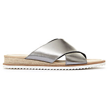 Buy Mint Velvet Penelope Cross Strap Slider Sandals Online at johnlewis.com