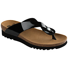 Buy Scholl Kenna Toe Post Flip Flops Online at johnlewis.com