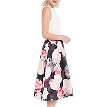 Buy Oasis Spring Bloom 2 in 1 Midi Dress, Multi Online at johnlewis.com