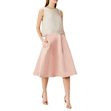 Buy Coast Coro Skirt, Mink Online at johnlewis.com
