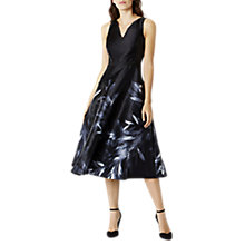Buy Coast Meldrey Print Dress, Mono Online at johnlewis.com