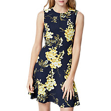 Buy Warehouse Wisteria Print Dress, Multi Online at johnlewis.com