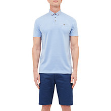 Buy Ted Baker T for Tall Supertt Geo Print Collar Polo Shirt, Blue Online at johnlewis.com