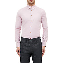 Buy Ted Baker Siminn Shirt, Pink Online at johnlewis.com
