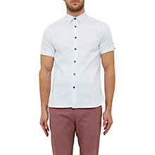 Buy Ted Baker Ital Shirt, White Online at johnlewis.com