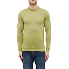 Buy Ted Baker Millar Textured Wool Blend Crew Neck Jumper Online at johnlewis.com