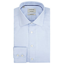 Buy Chester by Chester Barrie Zig Zag Weave Tailored Fit Shirt Online at johnlewis.com