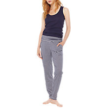 Buy Joules Estrella Geometric Swan Print Pyjama Bottoms Online at johnlewis.com