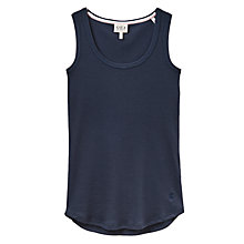 Buy Joules Lull Ribbed Pyjama Vest Top, Navy Online at johnlewis.com