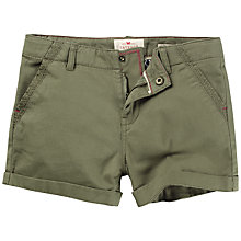 Buy Fat Face Girls' Alice Chino Shorts, Khaki Online at johnlewis.com