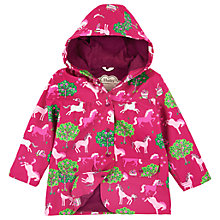 Buy Hatley Girls' Orchard Print Mac, Pink Online at johnlewis.com