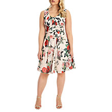 Buy Studio 8 Amily Floral Print Dress, Multi Online at johnlewis.com
