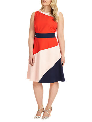 Buy Studio 8 Gabriella Colour Block Dress, Multi, 12 Online at johnlewis.com