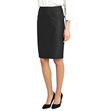 Buy Oasis Hannah Workwear Skirt, Black Online at johnlewis.com