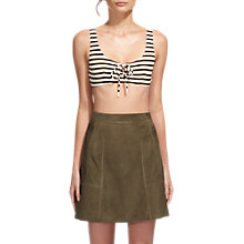 Buy Whistles Ohio Stripe Bikini Top, Multi Online at johnlewis.com
