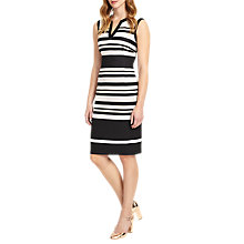 Buy Phase Eight Paige Stripe Dress, Multi Online at johnlewis.com
