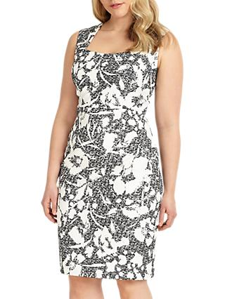 Studio 8 Tasha Dress, Black/Ivory