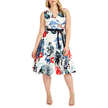 Buy Studio 8 Quinn Floral Print Dress, Multi Online at johnlewis.com