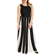 Buy Studio 8 Bo Maxi Dress, Black/White Online at johnlewis.com