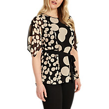 Buy Studio 8 Elianna Blouse, Black/Blush Online at johnlewis.com