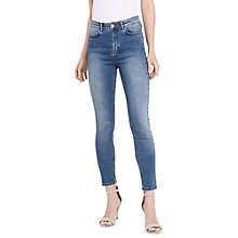 Buy Oasis Lily Stiletto Skinny Jeans, Light Wash Online at johnlewis.com