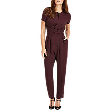 Buy Phase Eight Anna-Maria Jumpsuit, Port Online at johnlewis.com