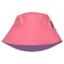 Buy Polarn O. Pyret Children's Reversible Hat, Pink/Purple Online at johnlewis.com