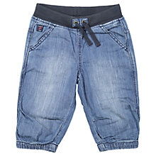 Buy Polarn O. Pyret Boys' Denim Shorts, Blue Online at johnlewis.com