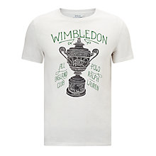 Buy Polo Ralph Lauren Support Wimbledon 2017 T-Shirt Online at johnlewis.com