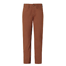 Buy John Lewis Heirloom Collection Boys' Chino Trousers, Tan Online at johnlewis.com