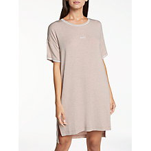 Buy DKNY City Stripes Nightdress, Shell Online at johnlewis.com