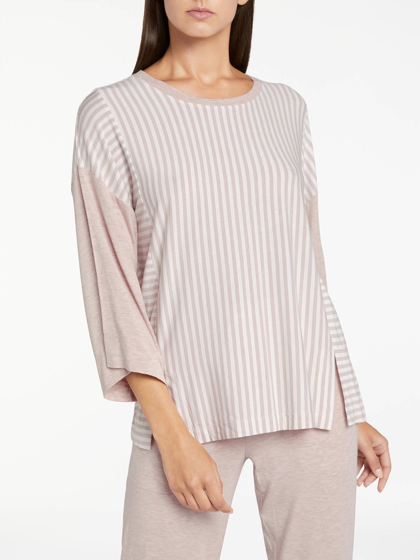 BuyDKNY City Stripes 3 4 Sleeve Pyjama Top e97499361
