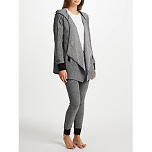 Buy DKNY Hooded Cozy Top And Legging Lounge Set, Dark Grey Online at johnlewis.com