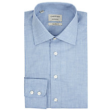 Buy Chester by Chester Barrie Fine Chambray Tailored Fit, Blue Online at johnlewis.com