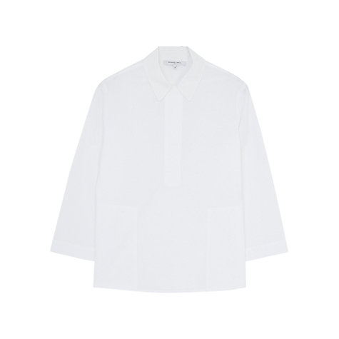 Buy Gerard Darel Carmel Blouse, White Online at johnlewis.com