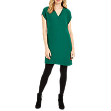 Buy Phase Eight Vivian V-Neck Tunic Dress, Green Online at johnlewis.com