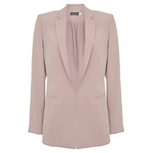 Buy Mint Velvet Tailored Blazer, Pink Online at johnlewis.com