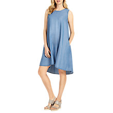 Buy Phase Eight Bryony Swing Dress, Chambray Online at johnlewis.com