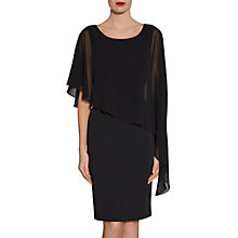 Buy Gina Bacconi Moss Crepe Dress And Chiffon Cape Online at johnlewis.com