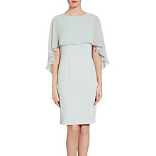 Buy Gina Bacconi Crepe Dress And Chiffon Cape Online at johnlewis.com
