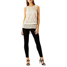 Buy Coast Maple Laser Cut Top, Neutral Online at johnlewis.com
