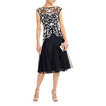 Buy Phase Eight Ursula Tulle Dress, Navy Online at johnlewis.com