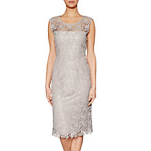 Buy Gina Bacconi Matte Primrose Guipure Lace Dress Online at johnlewis.com