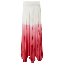 Buy Phase Eight Natalia Ombre Maxi Skirt, Pretty Pink Online at johnlewis.com